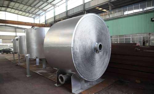天津螺旋板式换热器机械清洗